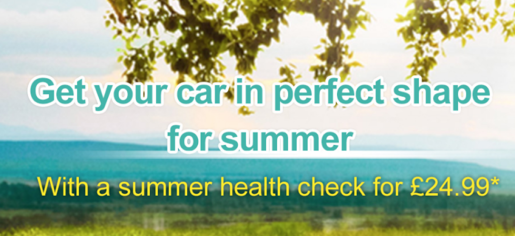 Summer Safety Check for £24.99
