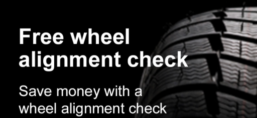 Save money with a wheel alignment check